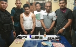 Jajaran Polsek Murung Ringkus 2 Bandar Sabu dalam Semalam
