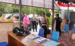 Kapolres Barito Selatan Cek Pos Pengamanan Operasi Ketupat