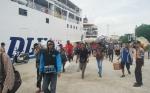 Hari ini Pucak Arus Mudik di Pelabuhan Sampit, 3.444 Penumpang Diberangkatkan