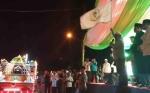 Wakil Gubernur Kalimantan Tengah Lepas Peserta Pawai Takbiran Idul Fitri