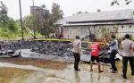 Rumah Barak di Jalan Manduhara Terbakar saat Ditinggal Berwisata