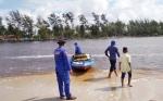 Pengunjung Pantai Sei Bakau Dikawal Anggota Satpolair