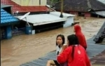 Banjir di Tumbang Samba Katingan Rendam Ratusan Rumah Warga