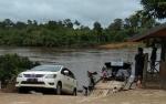 H+3 Feri Penyeberangan di Murung Raya Ramai