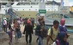 Arus Balik Lebaran 2019, 1.243 Penumpang Kapal Tiba di Pelabuhan Sampit