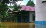 Banjir di Tumbang Samba Katingan Berangsur Surut