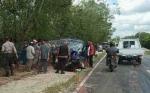 Dua Pikap Tabrakan di Jalan Tjilik Riwut Km 28