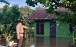 Polsek Katingan Hilir terus Pantau Kondisi Banjir