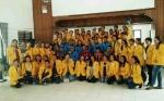 Mahasiswa Universitas Palangka Raya KKN di Gunung Mas