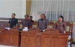 Fraksi DPRD Gunung Mas Sampaikan Pandangan Umum Raperda LPKPj APBD 2018