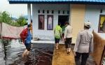 Banjir Terjang Perumahan Relokasi Desa Ujung Bandaran