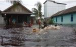 2 Kelurahan dan 1 Desa di Kecamatan Kumai Kebanjiran