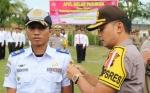 Polres Sukamara Laksanakan Apel Gelar Pasukan Berakhirnya Operasi Ketupat