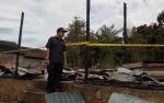 Wakil Bupati Murung Raya Tinjau Lokasi Kebakaran