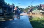 Sungai Kahayan Meluap, Sejumlah Jalan di Kuala Kurun Tergenang Air