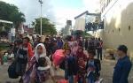 Sudah 7.402 Penumpang Arus Balik Datang di Pelabuhan Sampit