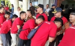 Bupati Sukamara Lepas Keberangkatan Kontingen Festival Budaya Isen Mulang