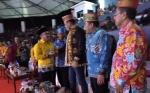 Gubernur Kalteng Tiba di Acara Pembukaan Festival Budaya Isen Mulang