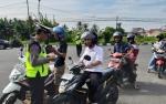 Belasan Pengendara Terjaring Razia di Jalan Tambun Bungai Kuala Kapuas
