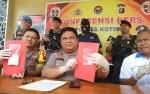 Jajaran Satreskoba Polres Kotawaringin Timur Ringkus Pembawa 1,1 Ons Sabu
