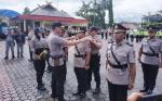 Enam Perwira Polres Barito Utara Bergeser