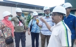 Staf Pengajar dan Mahasiswa USU Kunjungi PKS Berteknologi Biogas Milik PT Mendawai Mitra Sejati