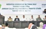 126 Jamaah Calon Haji Kabupaten Barito Utara Ikuti Manasik Haji