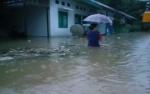 Ketinggian Banjir di Kecamatan Bukti Santuai Capai 1,5 Meter
