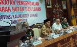 Gubernur Kalimantan Tengah Buka Rapat Koordinasi Peningkatan Pengendalian Karhutla