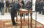 Bupati Barito Utara Harapkan Pejabat Pimpinan Tinggi Pratama Dapat Dipercaya