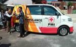 PMI Kotawaringin Timur Dapat Bantuan Mobil Ambulans dari Komunitas Harley Davidson