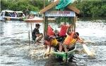 Video Serunya Lomba Besei Kambe di Sungai Kahayan