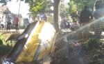 Truk Dump Tabrak Armada Angkutan CPO, Sopir Patah Kaki