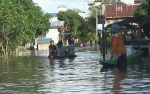 Ratusan KK di Desa Hanjalipan Terdampak Banjir