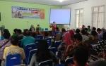 Dinas Pertanian Sosialisasikan Penyakit Rabies kepada Para Pelajar di Kapuas