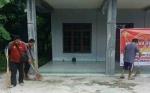 Polsek Kurun Bersihkan Rumah Ibadah