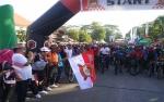 Ribuan Masyarakat Kotawaringin Timur Meriahkan Fun Bike Bhayangkara