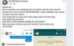 Akun Facebook Dikloning, Wakil Wali Kota Palangka Raya Langsung Lakukan Klarifikasi