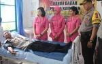 Personel Polres Katingan Donor Darah