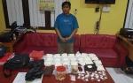 Polisi Amankan 22.250 Butir Obat Ilegal Siap Edar di Kapuas