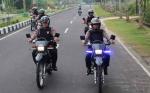 Anggota Polres Sukamara Tingkatkan Patroli Jelang Putusan MK