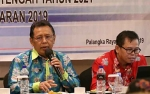Seruyan Masih Tertinggal, Sekda Hadiri Workshop Tematik Penyusunan RAN-PPDT 2021