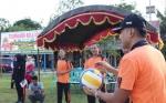 Polres Sukamara Meriahkan HUT Bhayangkara dengan Turnamen Bola Voli
