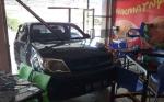 Begini Kronologis Mobil Hilux Tabrak Cafe Galaxy di Buntok