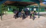 TNI - Polri di Mantangai Tunjukkan Sinergitas dengan Patroli Bersama