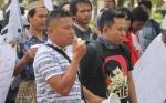 Polisi Amankan Aksi Damai Walhi Kalimantan Tengah