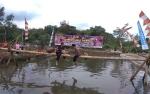 Lomba Mancing dan Pukul Bantal Meriahkan HUT Bhayangkara di Barito Timur