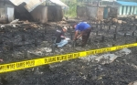 Mes Karyawan PT Arjuna Utama Sawit di Katingan Terbakar