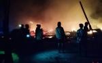 Polisi masih Selidiki Penyebab Kebakaran Mes Karyawan PT Arjuna Utama Sawit