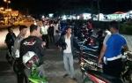 Polisi Amankan 13 Motor Balapan Liar di Gunung Mas
